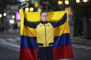 Sandra Lorena Arenas Medallista Olímpica